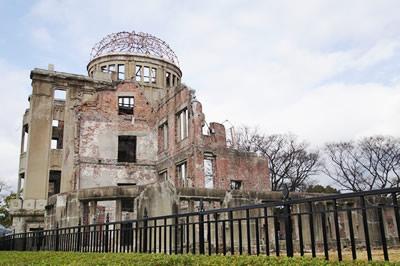 原爆ドームの画像